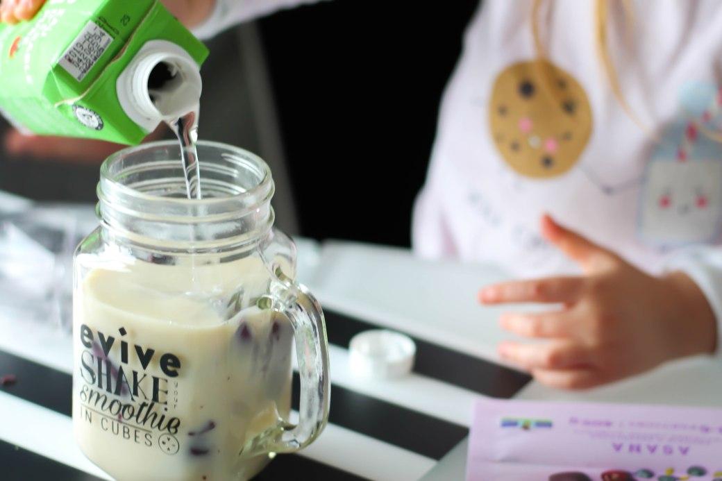 Evive smoothie Asana avec lait végétal