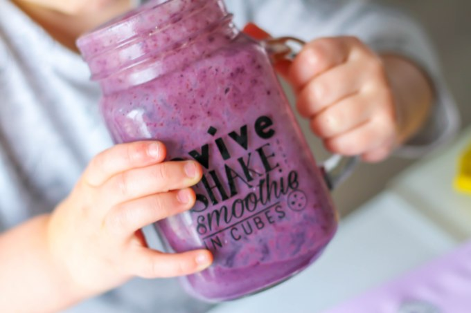 Evive smoothie Asana cubes