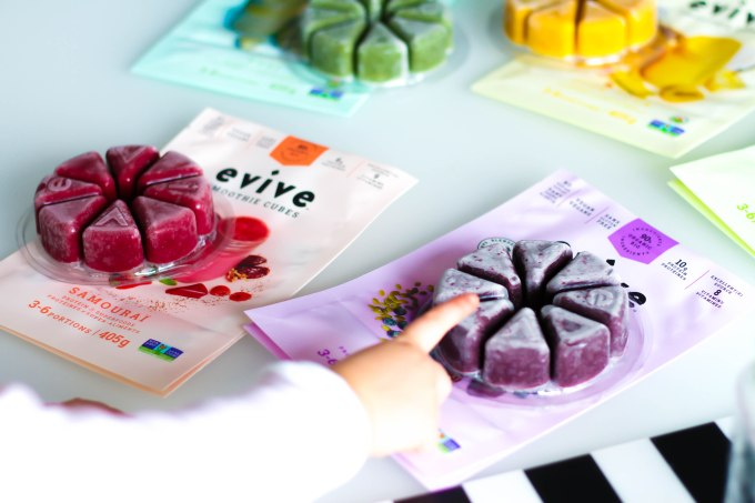 Evive smoothies saveurs