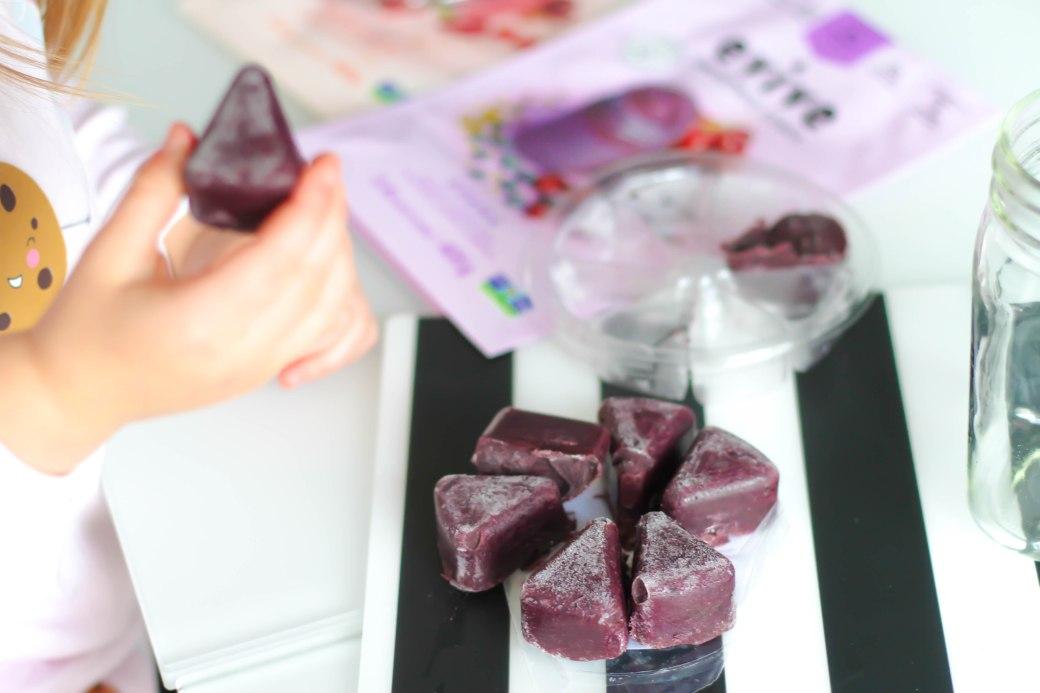 Evive smoothie cubes Asana
