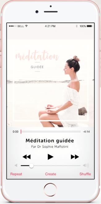 sophie méditation gratuite